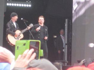 Th Edge and Bono
