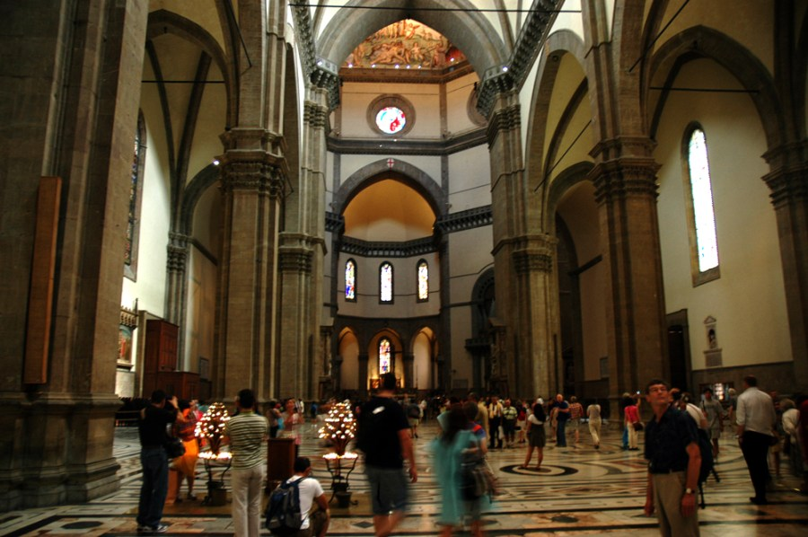 Florence in a day     Christine M  Grote Interior of Florence s Duomo