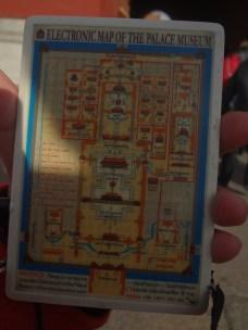 Audio guide lengkap dengan peta dan lampu indikasi keberadaan kita