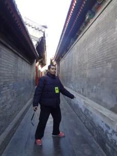 Udah mirip setting film kung fu belom!? (^_^)