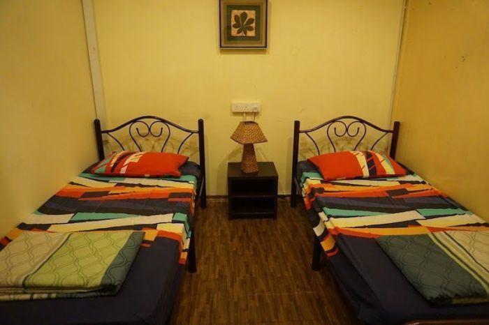 habitación twin muntri house