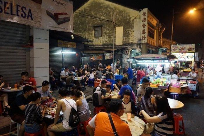 Street Food en Chulia Street (George Town)