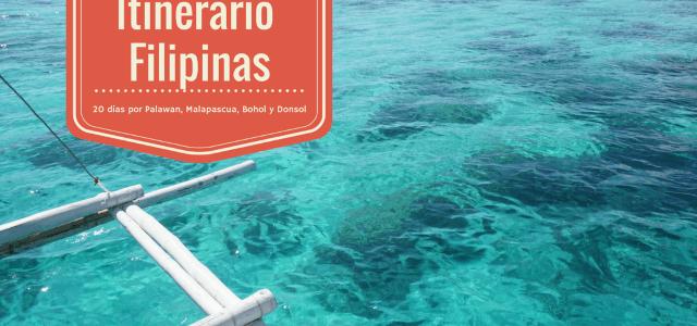 Itinerario de viaje a Filipinas de 20 días: Palawan, Malapascua, Bohol y Donsol