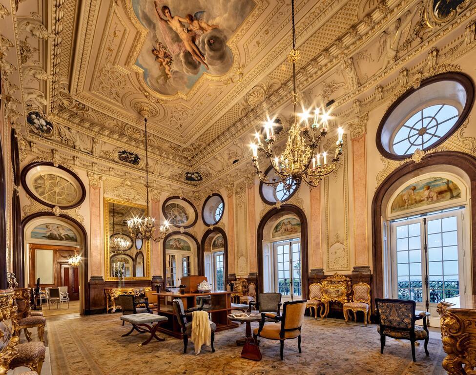 Salón del palacio de Estoi, foto de Booking