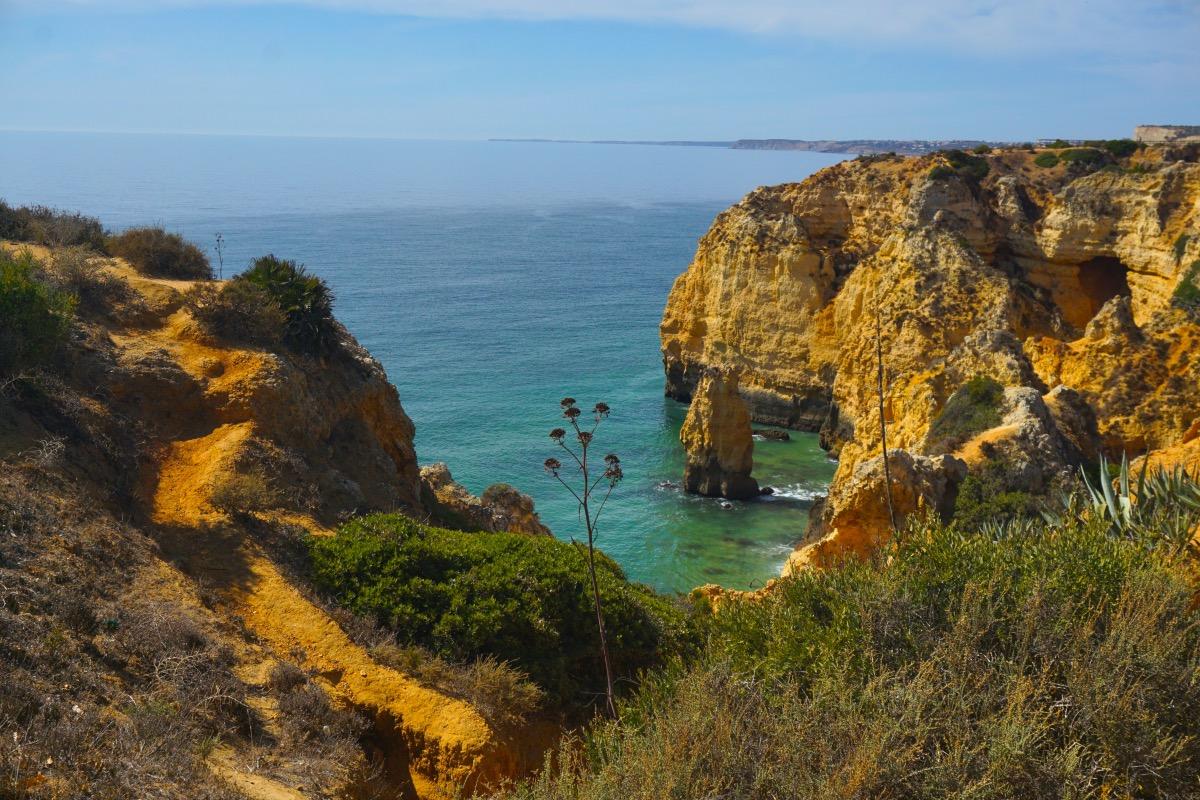 Ponta da Piedade: otra postal del Algarve