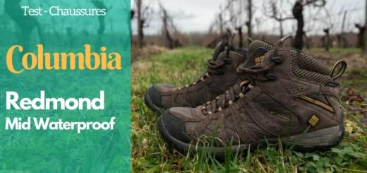 image titre chaussures columbia redmond mid waterproof