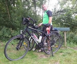premier voyage à vélo