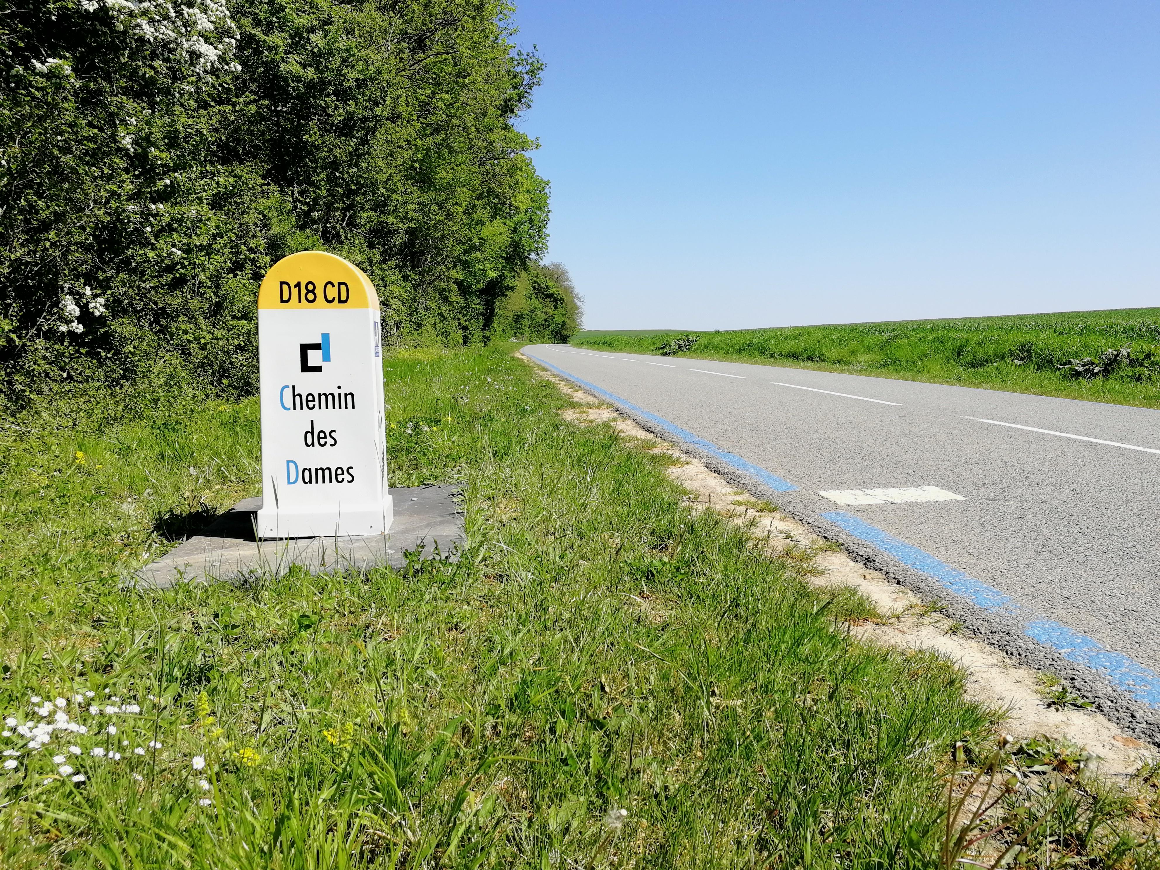 L'Aisne à vélo par le Chemin des Dames