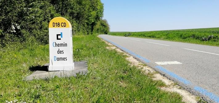 Chemin des Dames à vélo