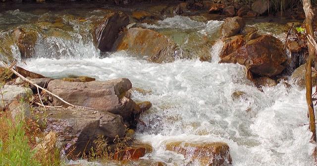 trouver de l'eau dans la nature