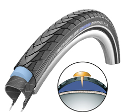 éviter les crevaisons à vélo - pneu anti-crevaison