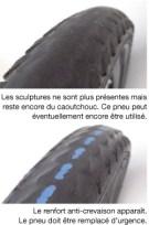 éviter les crevaisons à vélo avec des pneus usés
