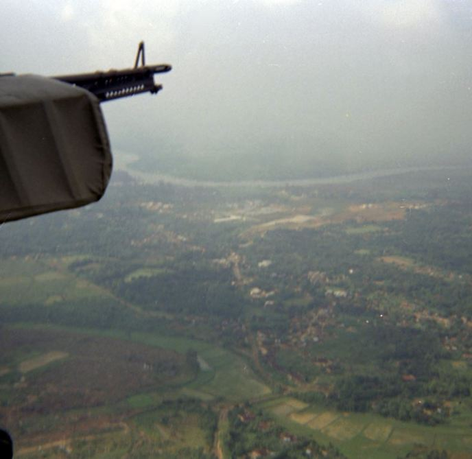 Vietnam from a Plane