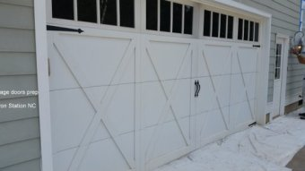 Garage Doors Prep in Iron Station NC