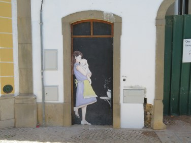 Loved this wall painting.