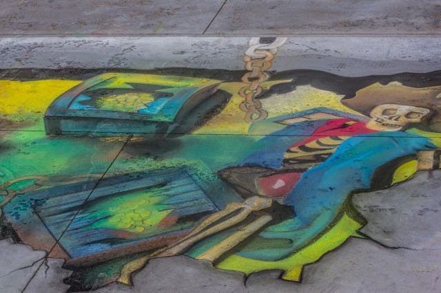 Pasadena Chalk Art