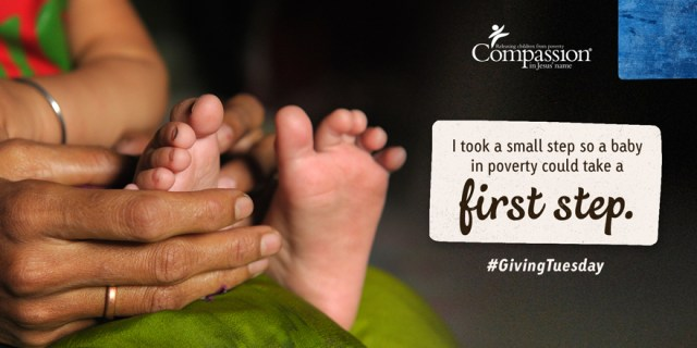 Giving Tuesday - First Steps