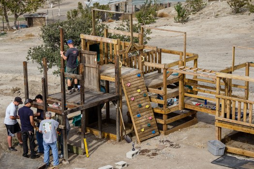 Building a play structure