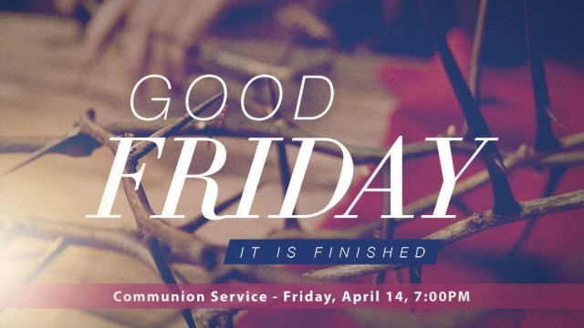 Good-Friday-worship the one who conquered sin and death