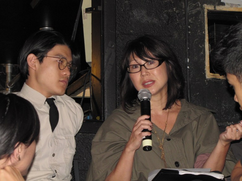 "Nancy Kim Parsons, New York actor, at ""RepresentAsian""   Courtesy of AAPAC"