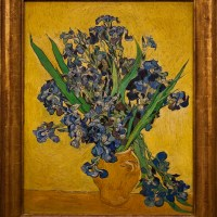 "METROPOLITAN MUSEUM |  Seen live in New York, Van Gogh's two ""Irises"" will knock you out"