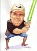 Scott Green Caricature