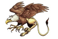 Griffin from tutorial in Creature Features Marker on bristol 9 X 12