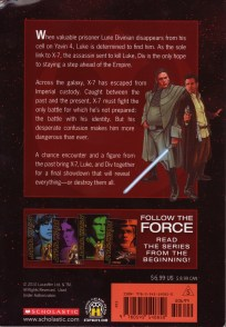 Star Wars Rebel Force: Book 5 Cover Illustration (Back)