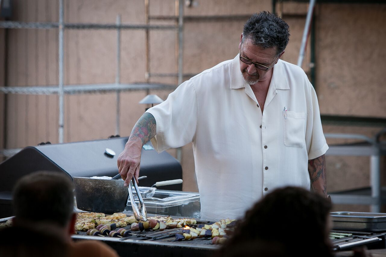 Image: Randy Peters of RPC, Sacramento catering.