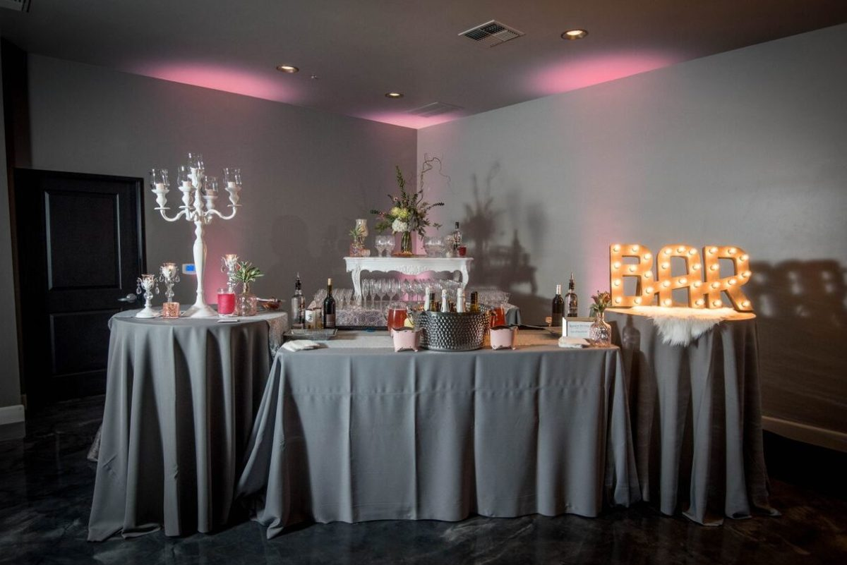 Image: An event space at Randy Peters, Sacramento's best catering.