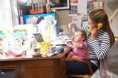 Mother & Daughter Running A Small Business