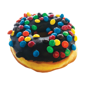 Randy's M&M's Raised Donut