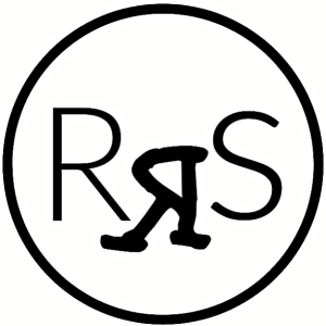 Randy Surles Logo Black and White