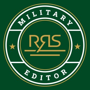 Green Background, Military Editor RRS Logo