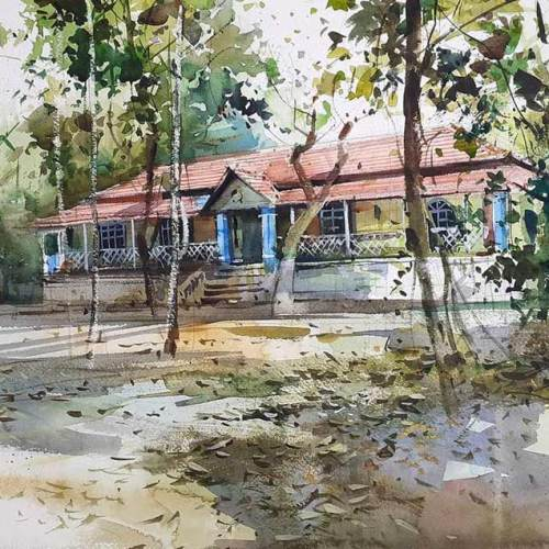 Hues of Watercolor Workshops for Adults | Coloring India Foundation