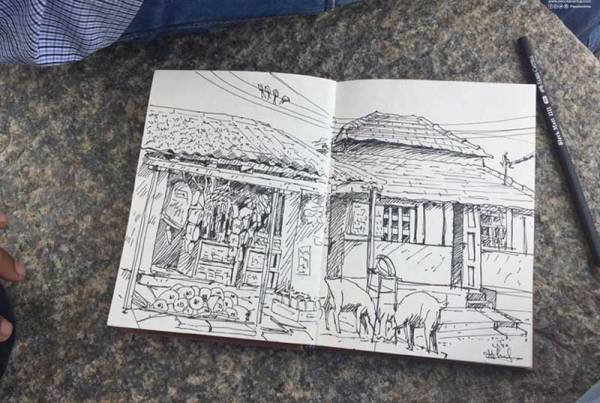 Pencil And Chai Fine Arts Gurukul Sketching