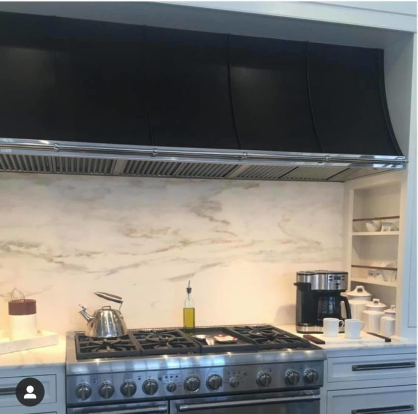 luxury kitchen ventilation hood