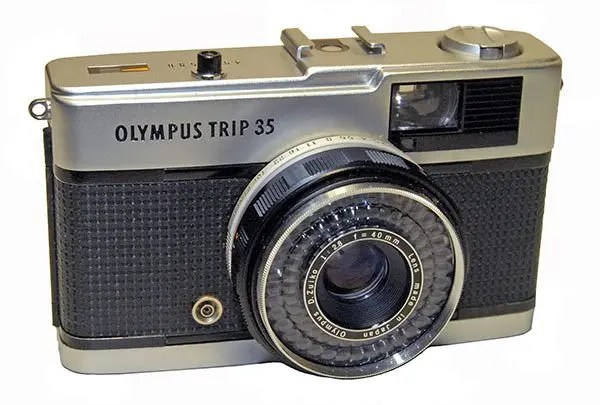 The Olympus Trip was extremely popular back in the 1970s and 1980s.