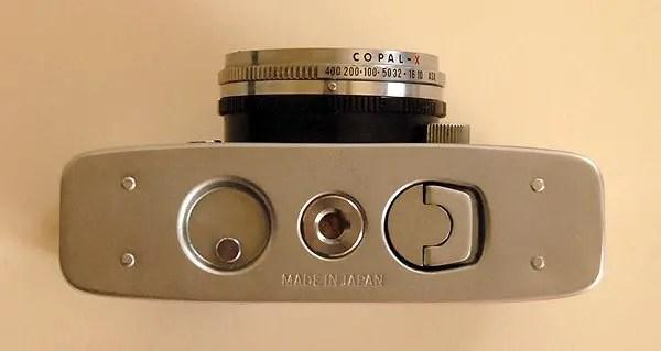 Olympus Pen-D Half Frame camera
