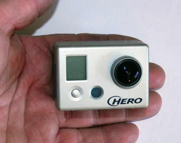 """When used """"naked"""" without the protective plastic case the GoPro is much smaller to use hand-held. However you have to be careful not to touch the front of the lens."""