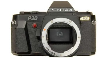 Pentax P-30 featured image of camera.