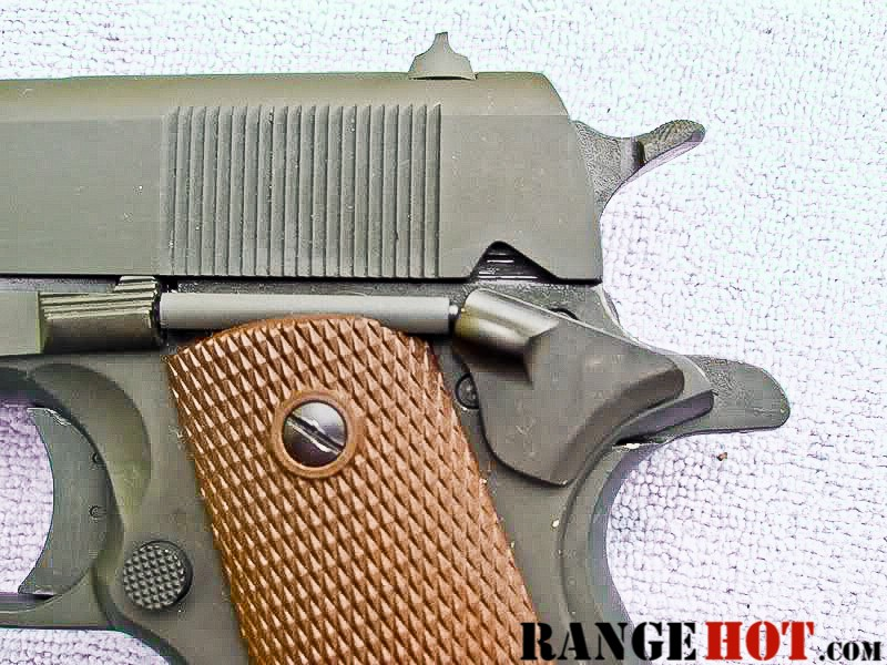 Auto-Ordnance WWII 1911A1 Parkerized reviewed - Range Hot