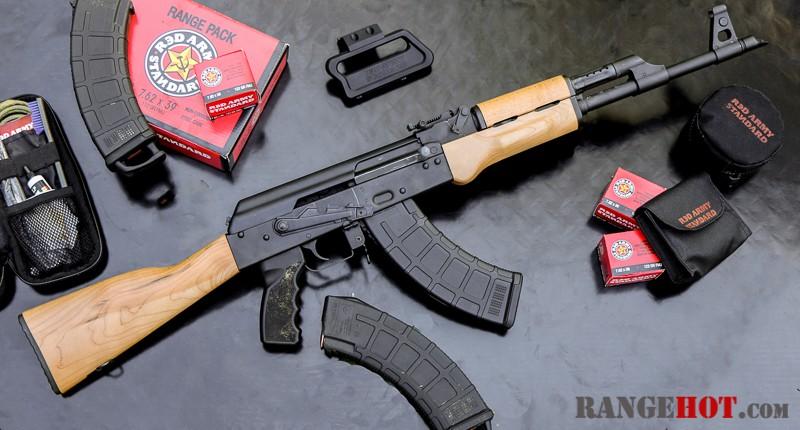 Century Arms RAS47, IMPƎЯAILIST COMЯADƎ - Range Hot