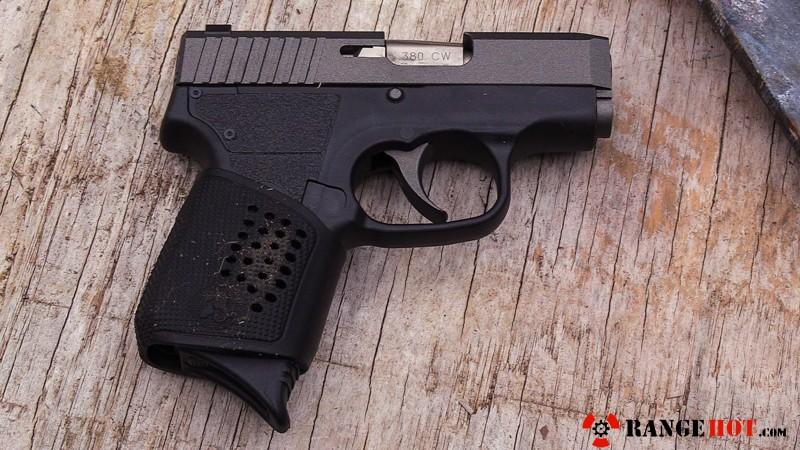 Kahr Arms CW 380 Tungsten gussied up pocket pistol  - Range Hot