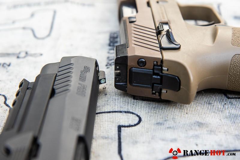 Sig Sauer M17, the sidearm of freedom  - Range Hot