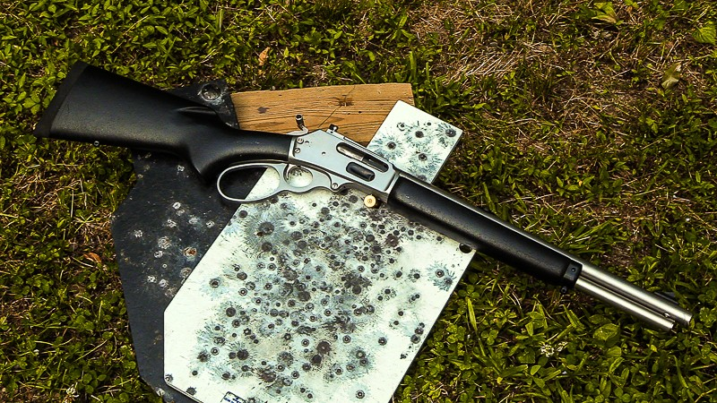 Marlin 1895 Trapper  45-70 lever action freight train