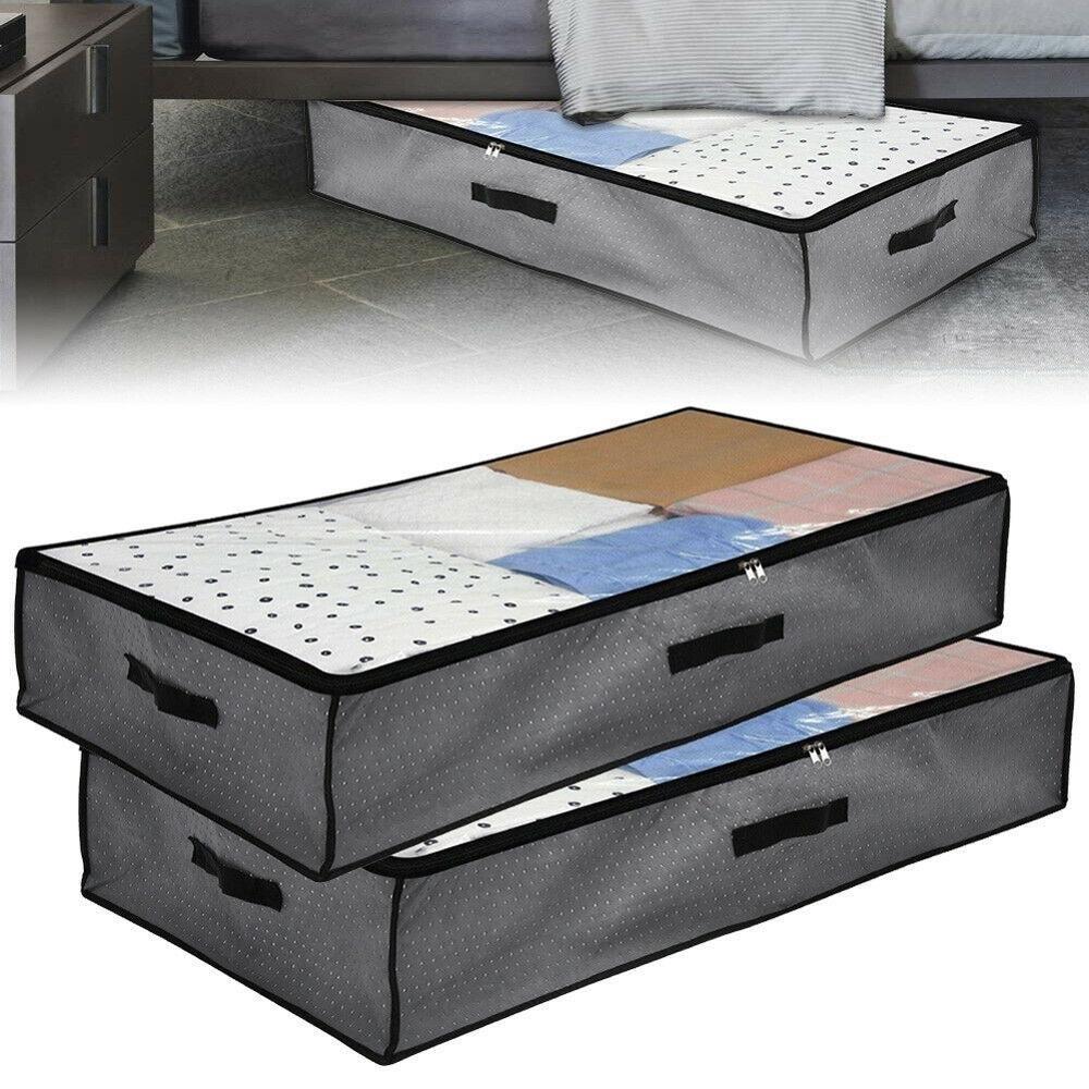 boite de rangement sous lit