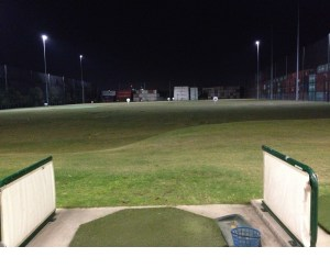 Driving Range With Lights