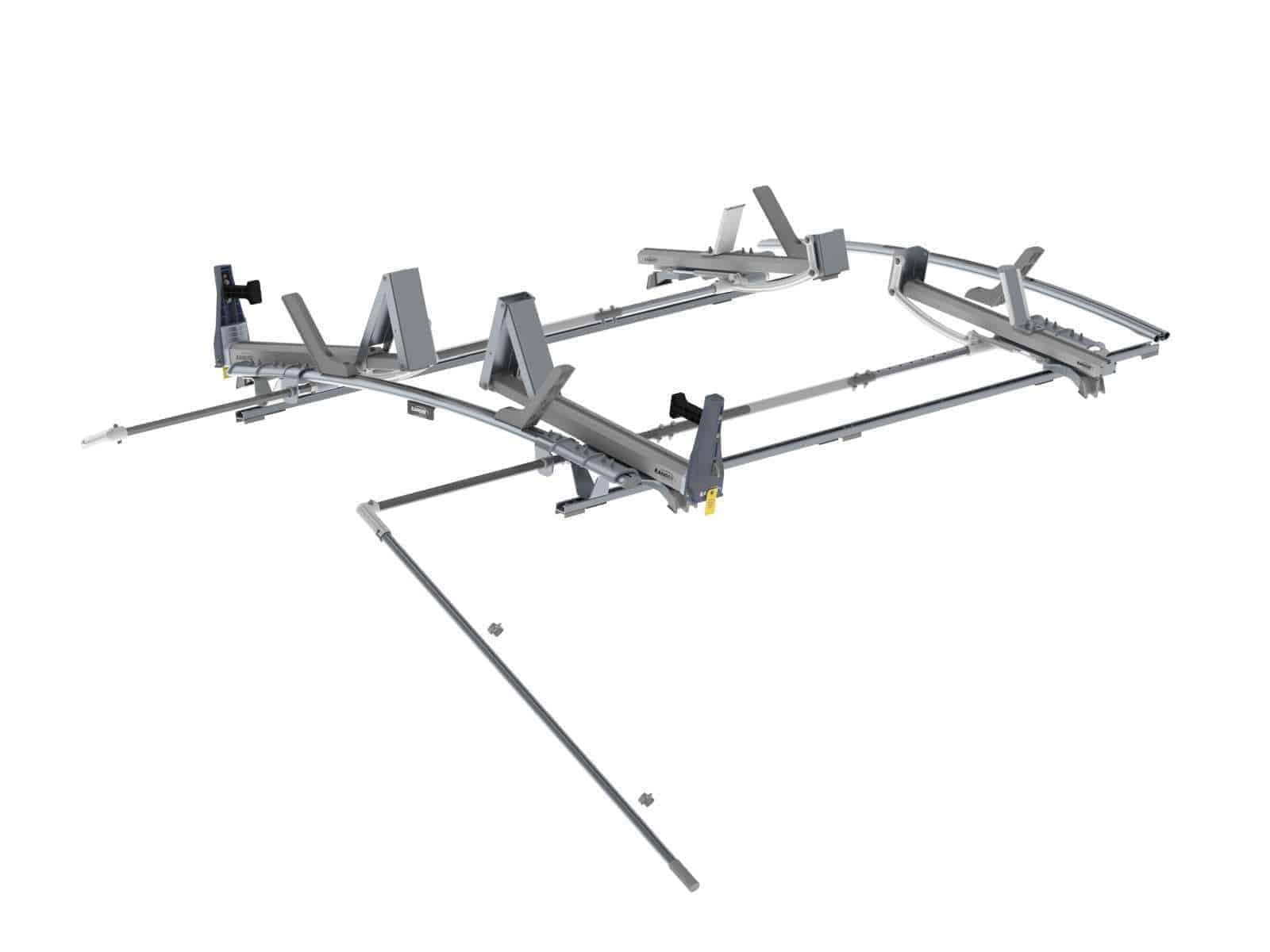 Double Side Max Rack Aluminum 2 Bar Ram Promaster 136