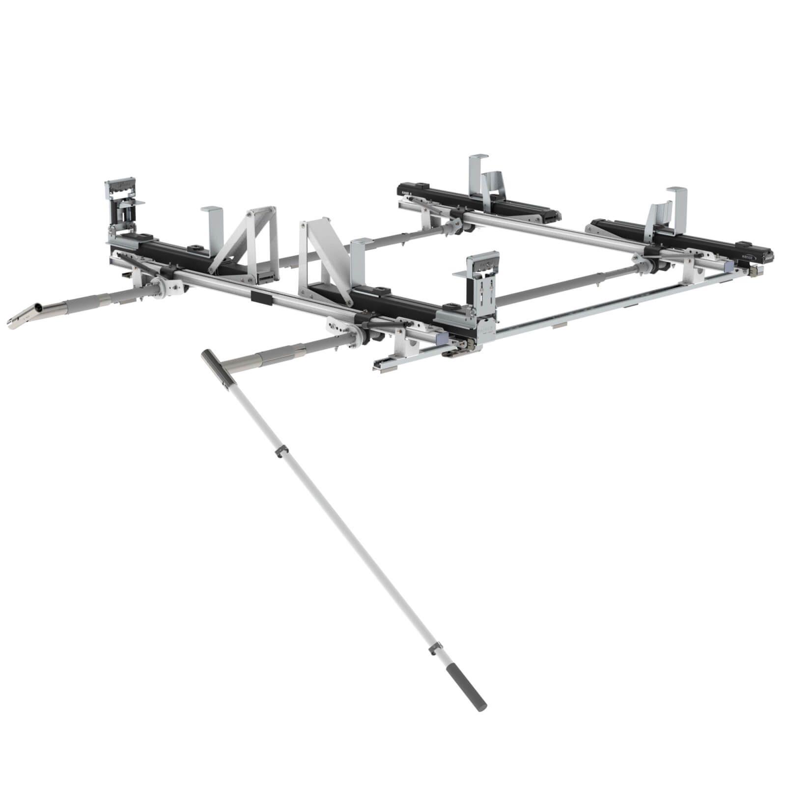 Max Rack 2 0 Drop Down Ladder Rack Double Side Ram